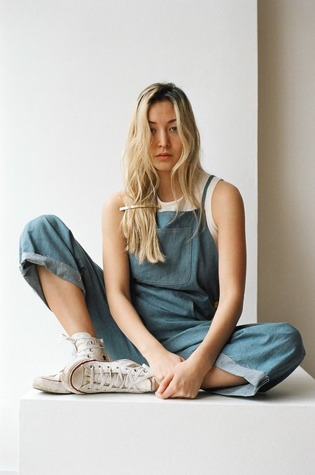 "Laurs Kemp ""Arlo"" Workwear One-piece in True Blue Denim"