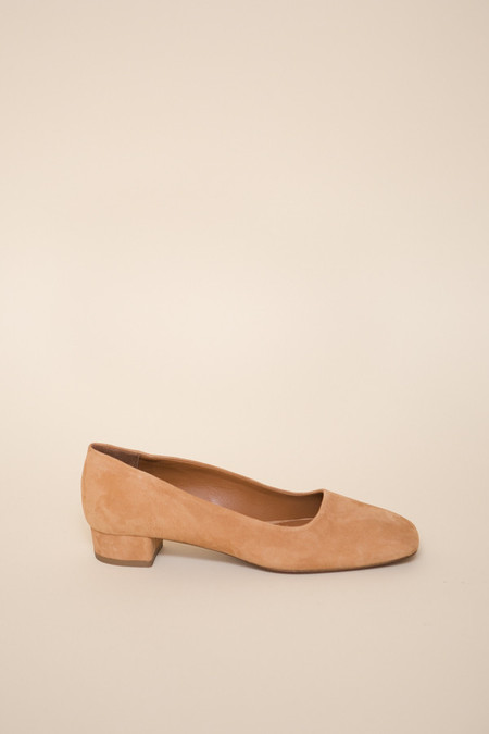 BY FAR Romy / Suede Nude