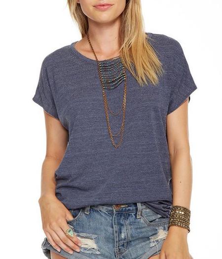 Chaser LA Triblend Vent Back T-shirt