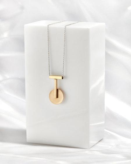 Rock Salt Vintage Pendulum Pendant
