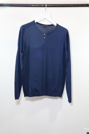 Autumn Cashmere 2 button Henley