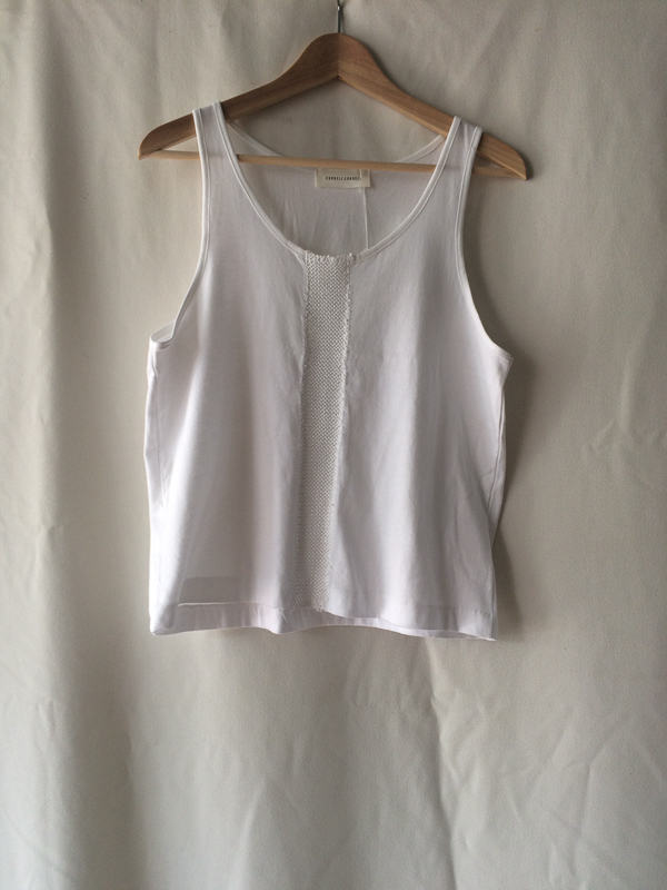 Correll Correll Knit One Stripe tank