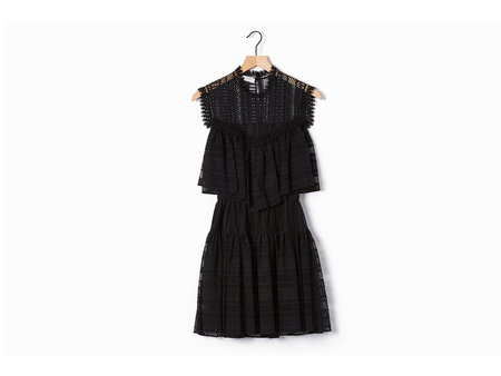 Philosophy di Lorenzo Serafini Black Lace Dress