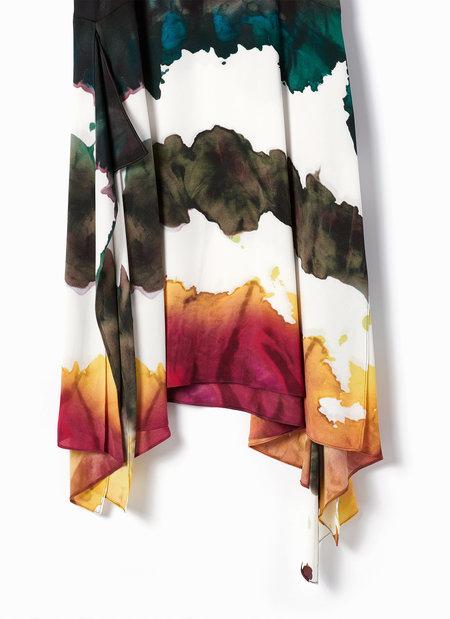 Acne Studios Saleh Water Dye Dress