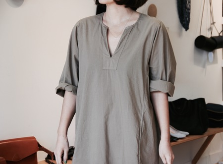 XIRENA BLAIR TUNIC DRESS