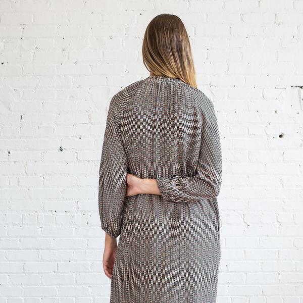 Apiece Apart Shirred Georgia Dress