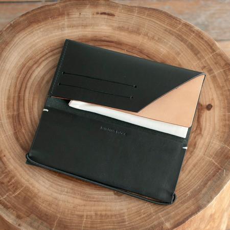 Building Block Envelope Wallet Black