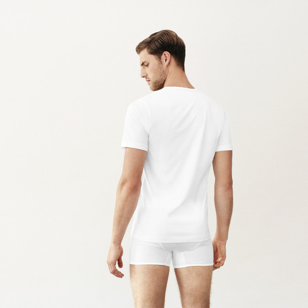 Handvaerk V Neck Undershirt White