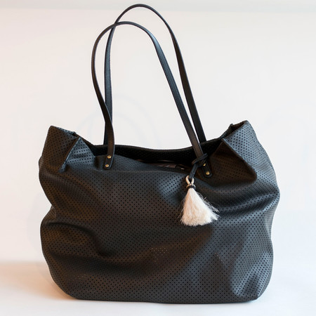 Kempton & Co Perforated Leather Tote