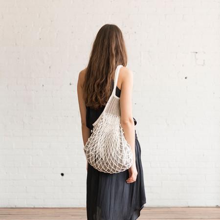 M.Patmos M. Patmos Crochet Mercado Bag White/Silver