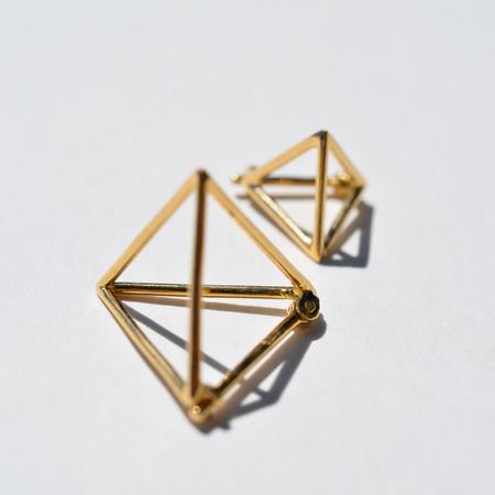 Shihara Triangle Earring 15mm