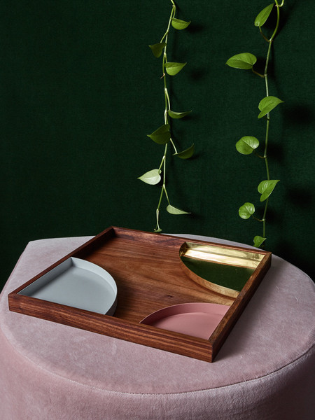 AYTM Metal Inserts for Wooden Tray