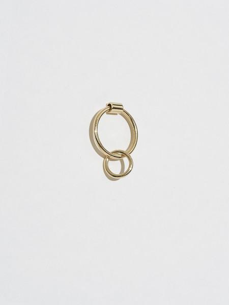 J.Hannah 14K Gold Venn Drop Earring