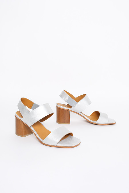 Coclico Bask heel in silver