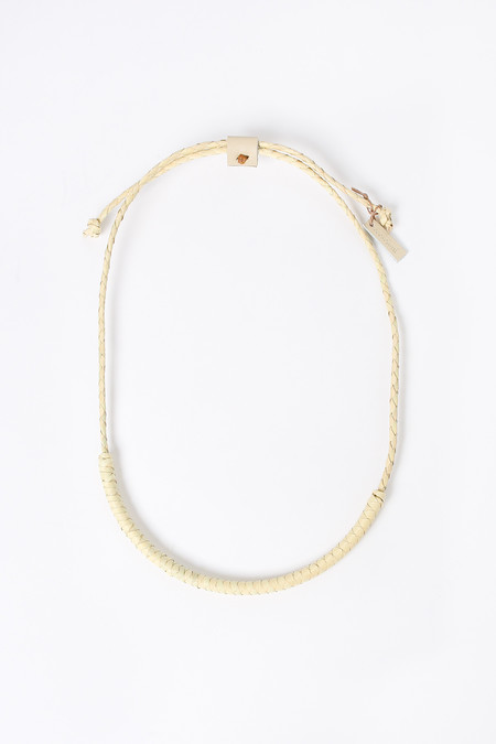 Crescioni Oaxacan circuit necklace in palm