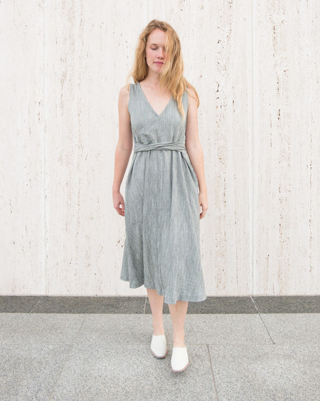 Esby CASEY DRESS - OLIVE