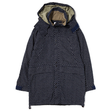 GARBSTORE DECK COAT / INDIGO DOT