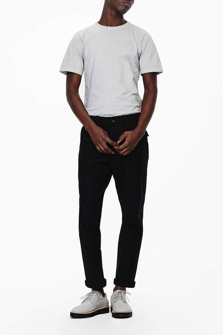 Saturdays Surf NYC Brandon Solid Pima Cotton T-Shirt | Ash