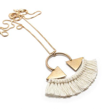 Rebekah J. Designs Point A Necklace