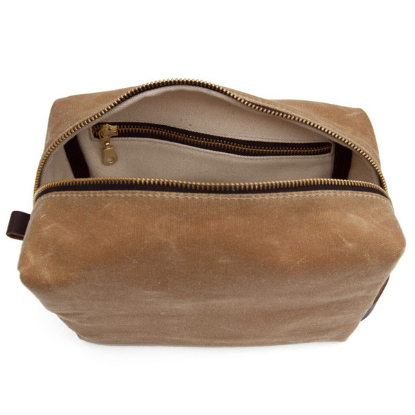 Alpine Modern Dopp Bag Tan
