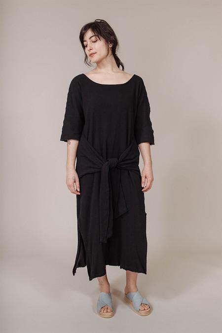Miranda Bennett Waist Dress in Black