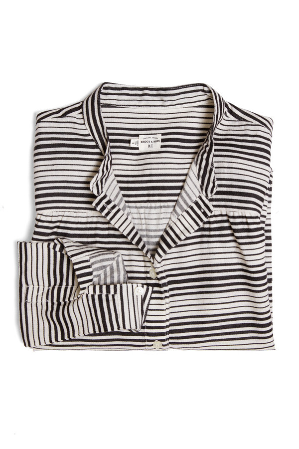 Bridge & Burn Isabel Black Stripe