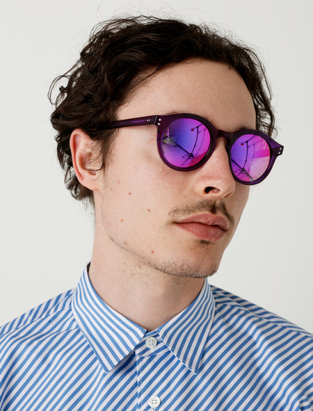 Our Legacy Sunglasses Bold Violet Plum