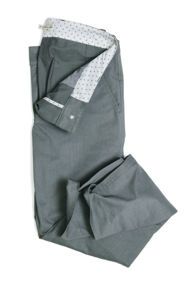 Bridge & Burn Market Trouser Field Grey