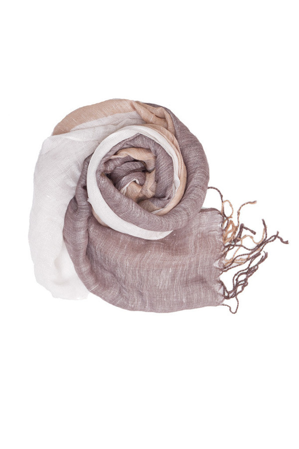 Bridge & Burn Natural Striped Scarf