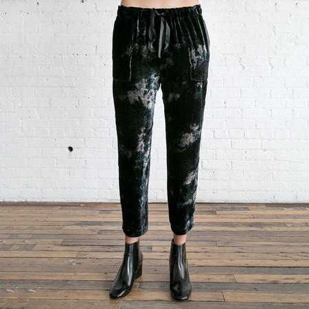 Raquel Allegra Drawstring Pant Black
