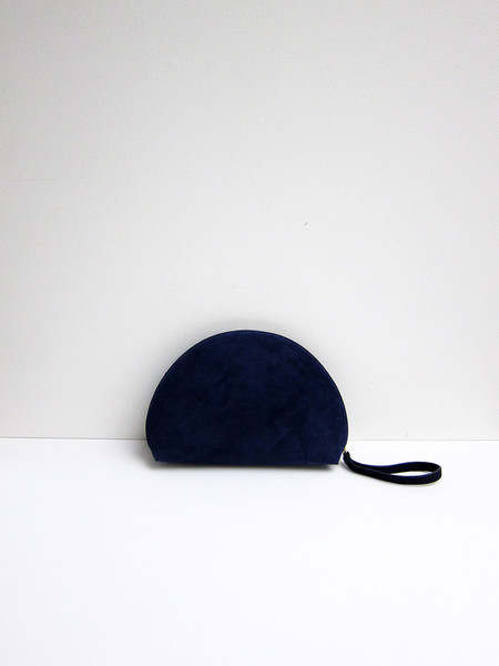 Mansur Gavriel Mini Moon Clutch, Blu
