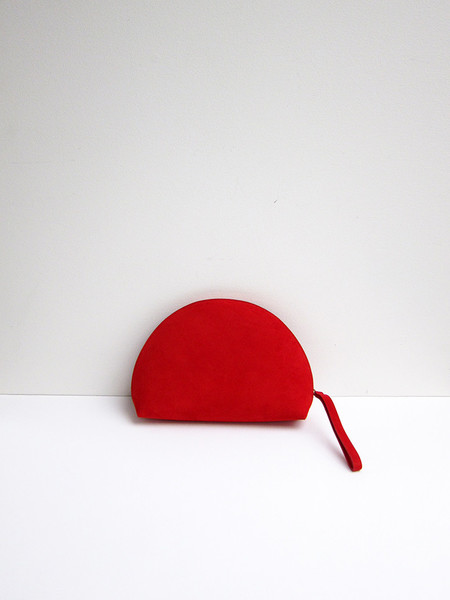Mansur Gavriel Mini Moon Clutch, Flamma