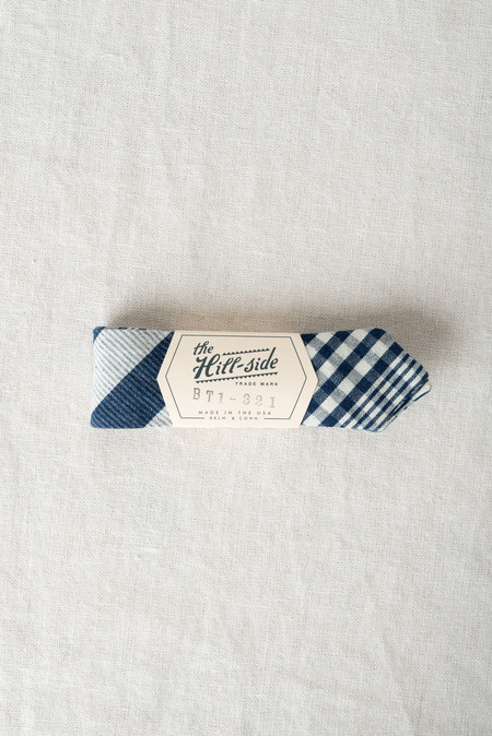 The Hill-Side/Hickoree's Bow Tie Check Oxford