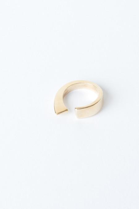 Fay Andrada Isku Ring In Brass