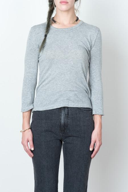 V::ROOM L/S Tencel Stretch Jersey in Grey