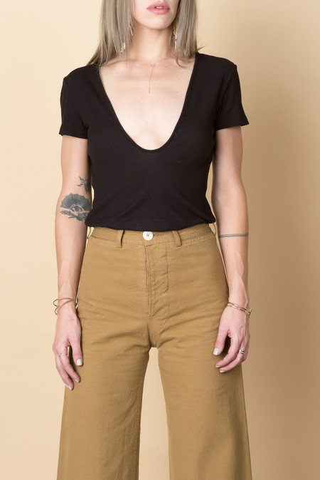 Lacausa Rib Scoop T In Latar