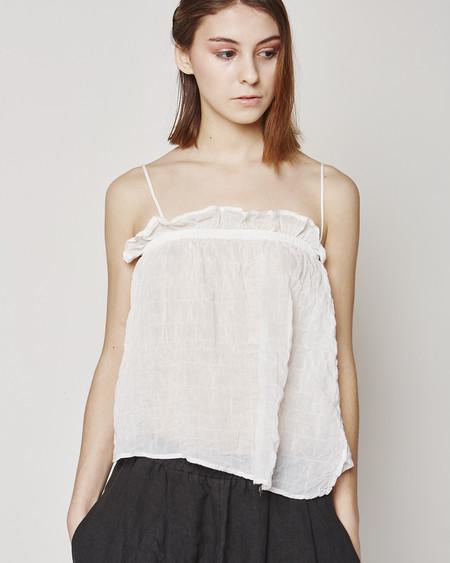 Atelier Delphine Aeriel camisole in white