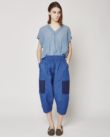 Atelier Delphine Kiko pants in indigo