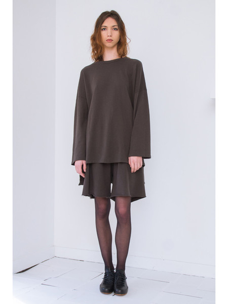 Lauren Manoogian Cashmere Oversized Sweatshirt
