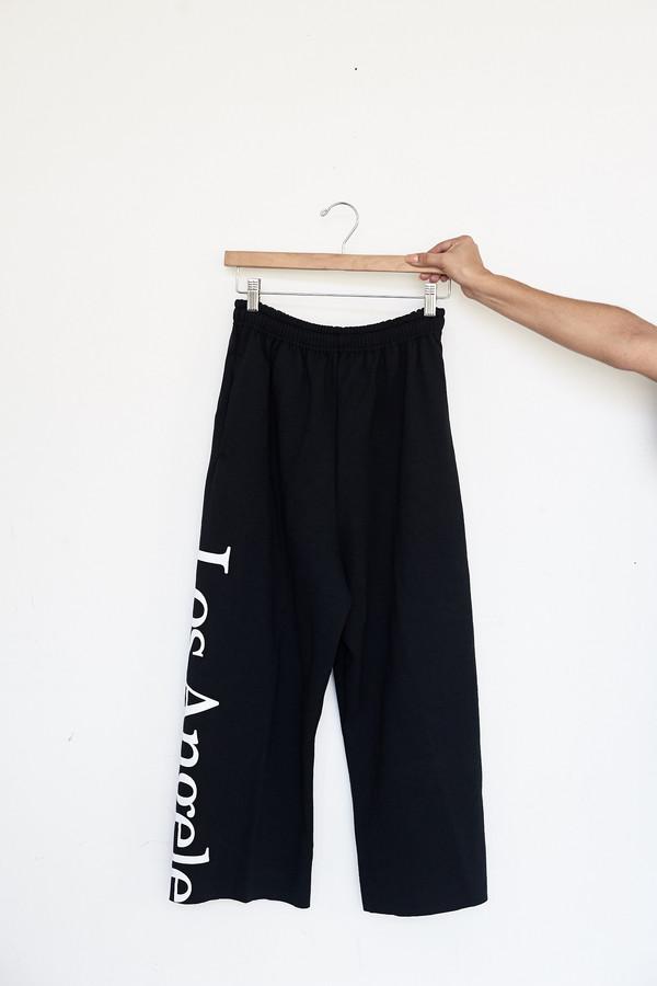 Assembly New York Cotton Logo Sweatpants - Los Angeles