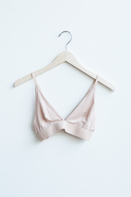 Baserange Triangle Bra in Nude