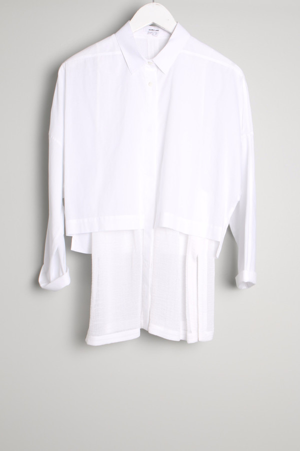 Helmut Lang Cotton Layered Shirt