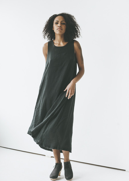 Black Crane - Tank Dress in Black