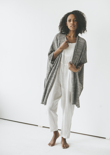 Line Knitwear - Maryn in Inkblot