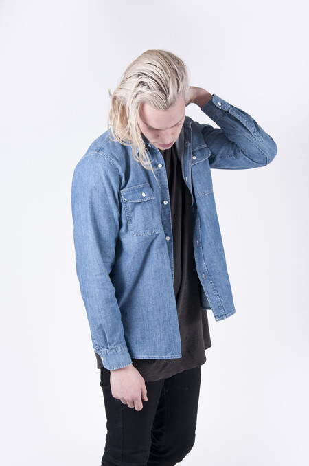 Our Legacy Denim Shirt Rinse Wash