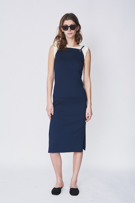 Nomia Plisse Suspension Dress