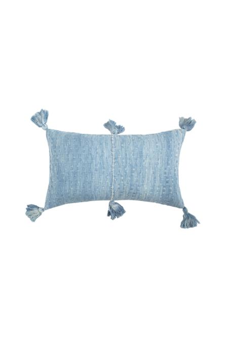 Archive New York Antigua Pillow - ocean tie dye