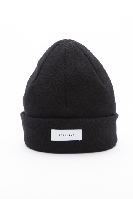 Soulland Villy Beanie in Black