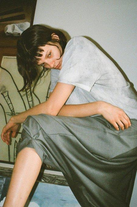Audrey Louise Reynolds Grey Shirt