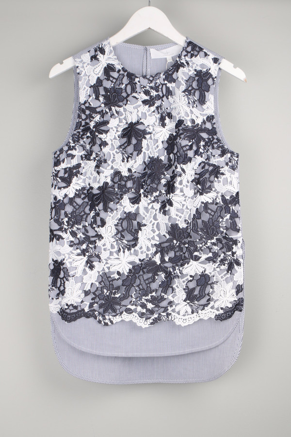Thakoon Addition Lace Tank